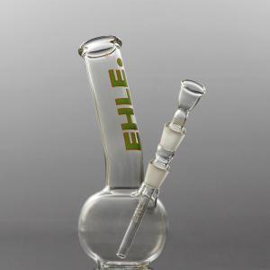 spherical bong, bent, joint 14,5, green